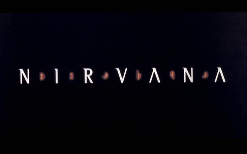 NIRVANA title screeen
